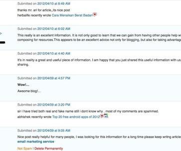 Comments - Social Media Informer